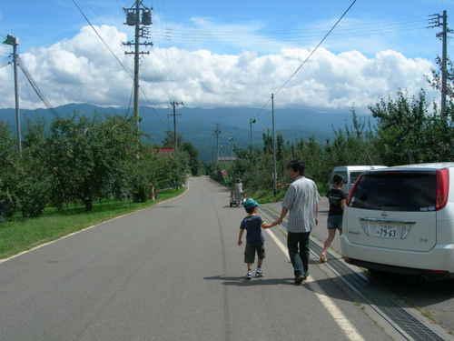 2007.9.1 松川に到着