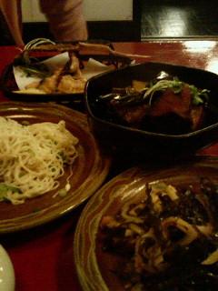 沖縄ご飯、最後の夜