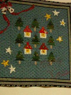 クリスマスキルト