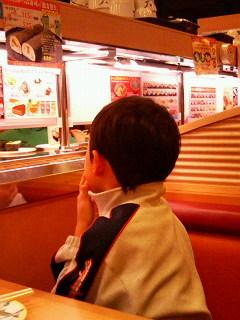 初☆回転寿司