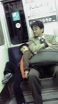ボク、眠いzzz<br />  …