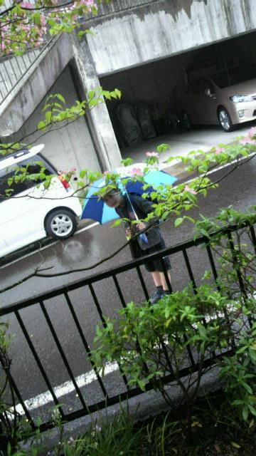 雨なんだけど…♪