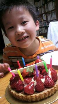 8才の誕生日、おめでとう♪