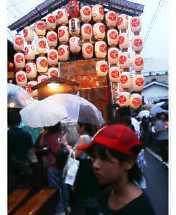 祇園祭り、りんちゃんの巻